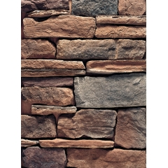 Exterior Handmade Faux Rock Panel