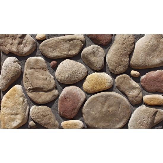 Fuente de valla exterior de paneles de piedra imitaci n - Paneles de piedra artificial ...