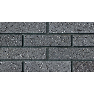 Charcoal Gray Sheared Brick Cladding Panels
